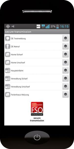 secure transmission App